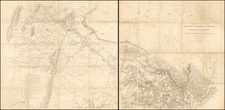 Mid-Atlantic and Southeast Map By United States Bureau of Topographical Engineers