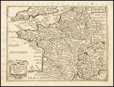 France Map By Jean Picart