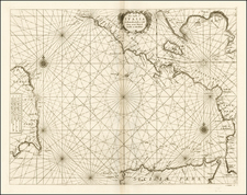 Italy, Balearic Islands and Sardinia Map By Vincenzo Maria Coronelli