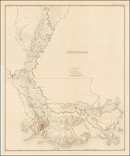 South Map By General Land Office