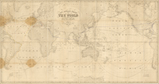 World and World Map By James Imray & Son