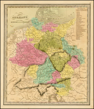 Germany Map By Jeremiah Greenleaf