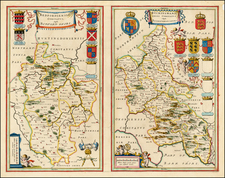 British Isles Map By Johannes Blaeu