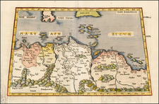 Africa, North Africa and African Islands, including Madagascar Map By Lorenz Fries