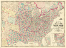 United States Map By Schonberg & Co.
