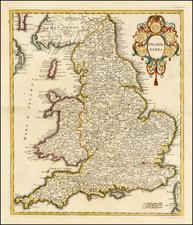 British Isles Map By Giambattista Albrizzi