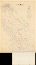 Mexico, Baja California and California Map By Matthew Fontaine Maury