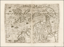 China, Japan, Southeast Asia and Other Islands Map By Ferrando Bertelli