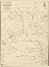 Plains and Rocky Mountains Map By G.K. Warren