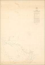 Mexico, Central America and South America Map By Matthew Fontaine Maury