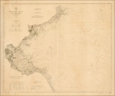 New England Map By U.S. Coast & Geodetic Survey