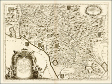 Italy Map By Vincenzo Maria Coronelli