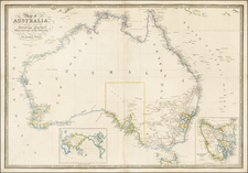 Australia Map By James Wyld