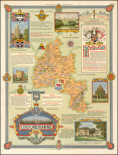 British Isles Map By Ernest Clegg