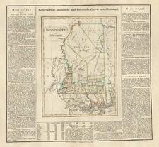 South Map By Carl Ferdinand Weiland