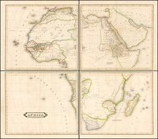 Africa and Africa Map By W. & D. Lizars
