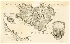 Italy and Balearic Islands Map By Vincenzo Maria Coronelli