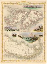 South America Map By John Tallis
