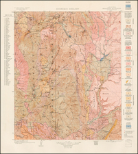 Southwest Map By U.S. Geological Survey