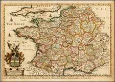 France Map By Richard Blome