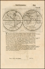 World and World Map By Antoine De Fer