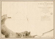 North Africa Map By Depot de la Marine