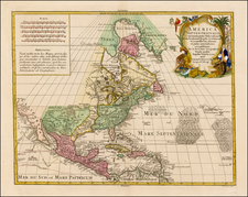 North America Map By Tobias Conrad Lotter