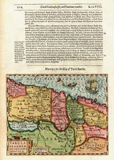 Europe, Mediterranean, Asia, Middle East and Holy Land Map By Jodocus Hondius / Samuel Purchas