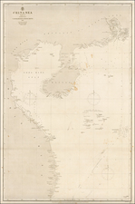 China and Southeast Asia Map By British Admiralty