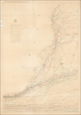 South Africa, East Africa and African Islands, including Madagascar Map By Matthew Fontaine Maury