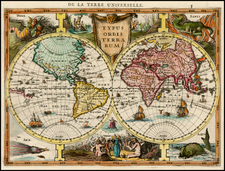World and World Map By Jan Everts Cloppenburgh