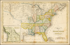 United States Map By Hinton, Simpkin & Marshall