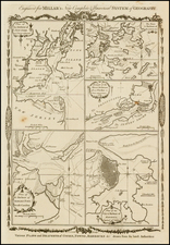 New England, Southeast and North America Map By Thomas Conder