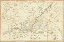 New England, Mid-Atlantic and American Revolution Map By Anonymous