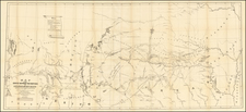South, Texas, Plains, Southwest and Rocky Mountains Map By R.B. Marcy