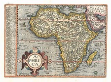 Africa and Africa Map By Matthias Quad / Johann Bussemachaer