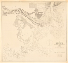Southeast, Georgia and Civil War Map By United States Coast Survey