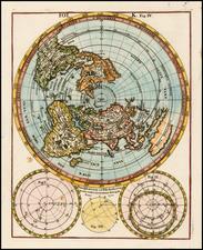 World, World, Northern Hemisphere and Polar Maps Map By Heinrich Scherer