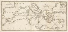 Mediterranean Map By Malham