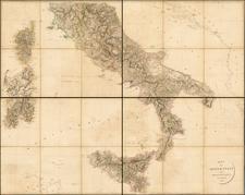 Italy Map By Aaron Arrowsmith