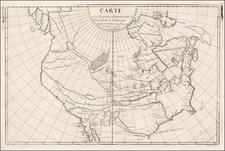 Polar Maps, North America and Canada Map By Samuel Engel