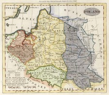 Europe, Poland and Baltic Countries Map By John Payne