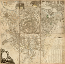 Austria Map By Hieronimus Benedicti / Maximilian von Grimm