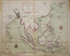 China, India, Southeast Asia, Philippines and Other Islands Map By Thomas Page / Richard Mount