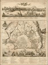 Balearic Islands and Greece Map By Romeyn De Hooghe / Antoine De Fer