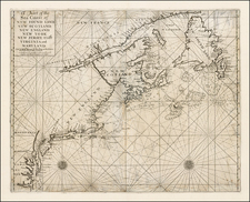 New England, Mid-Atlantic and Canada Map By William Mount / Thomas Page