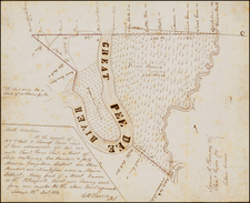 Southeast and South Carolina Map By C.B. Sarvis