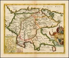 Greece Map By Philipp Clüver