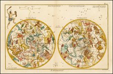 Celestial Maps Map By Denis Diderot