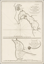 San Diego Map By Jean Francois Galaup de La Perouse